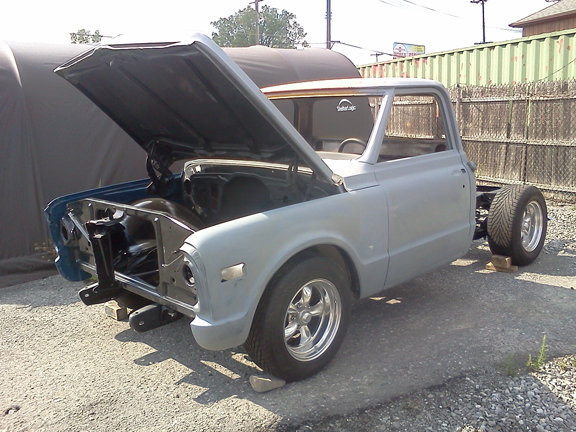 1972 c10 chevy truck restoration by terps autospa amp collision